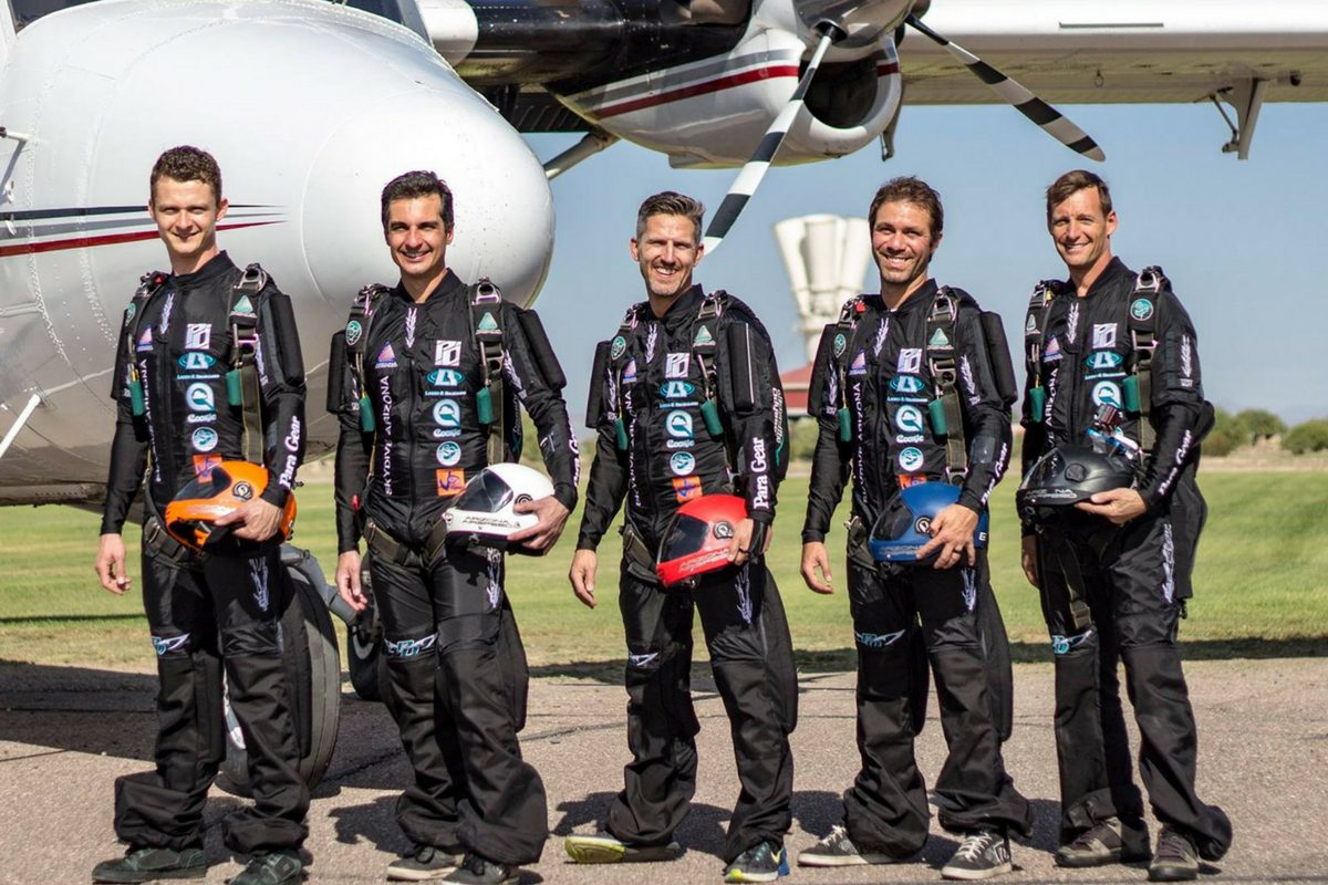 Outside of military teams, Arizona Airspeed is one of the most well sponsored civilian teams in the world. Note their social media output. Love to their sponsors, transparency with their development to their audience and offering valuable tips to other skydivers.
