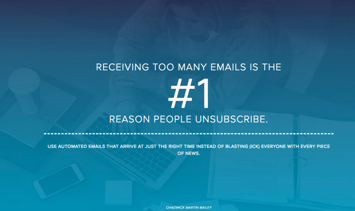 Number one reason people don't open e-mails