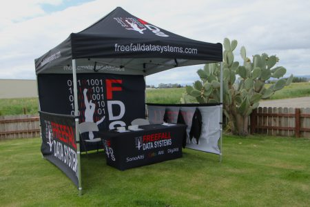 Free Fall Data Systems Tent